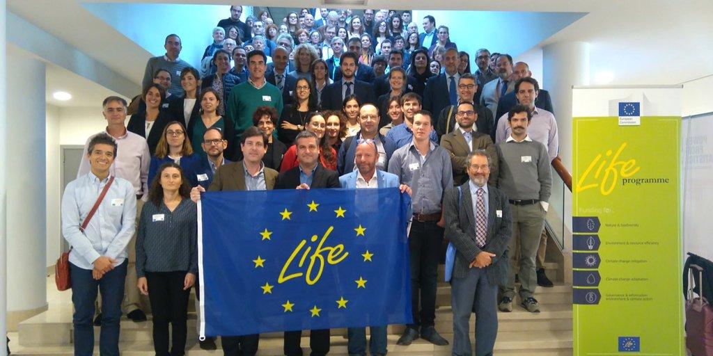Proyectos LIFE16 en Bruselas