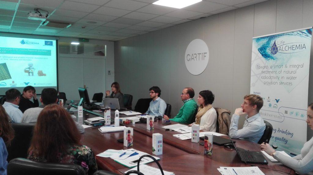 Segunda reunión de coordinación del Proyecto LIFE ALCHEMIA