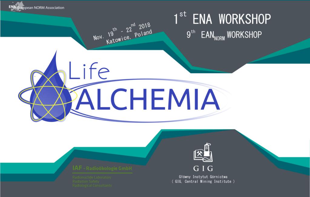 LIFE ALCHEMIA participará en el primer taller internacional ENA (European NORM Association)