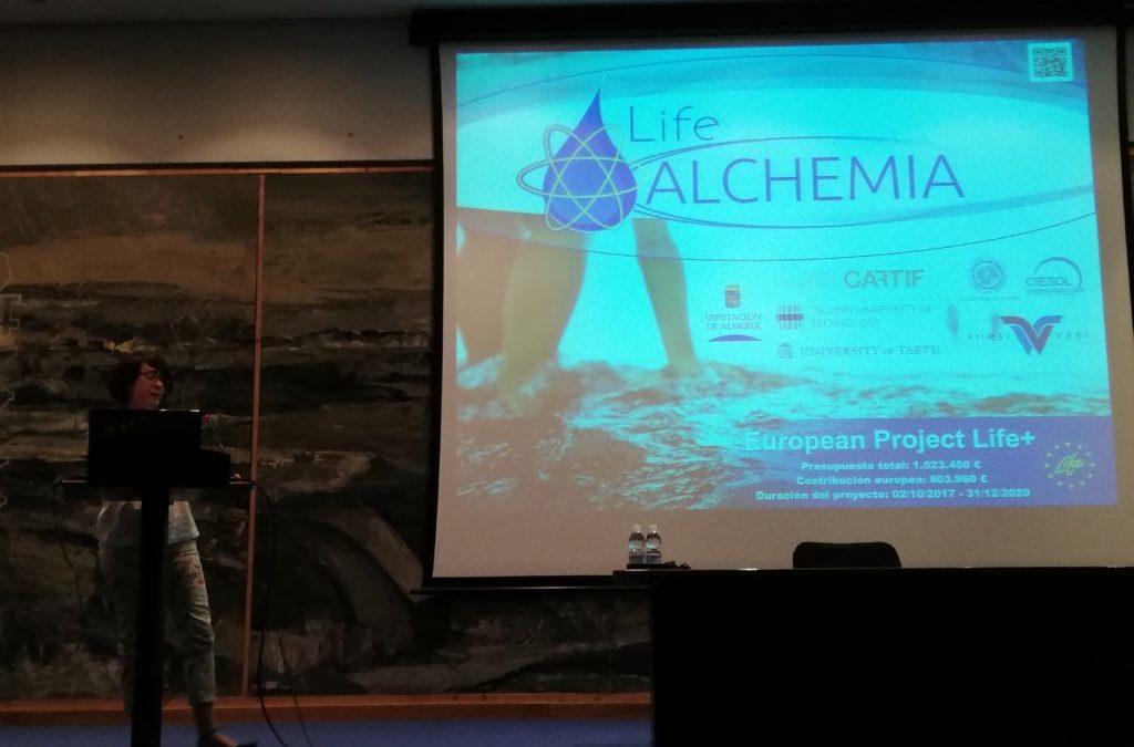 LIFE ALCHEMIA presente en el XIII Congreso Español de Tratamiento de Aguas