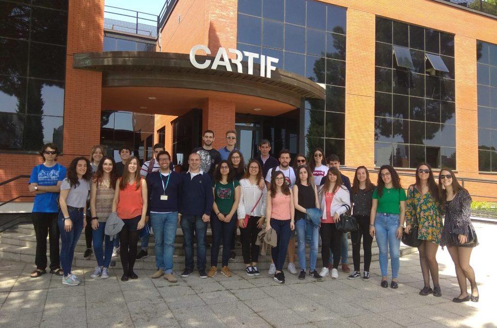 Estudiantes de la Universidad de Salamanca conocen LIFE ALCHEMIA