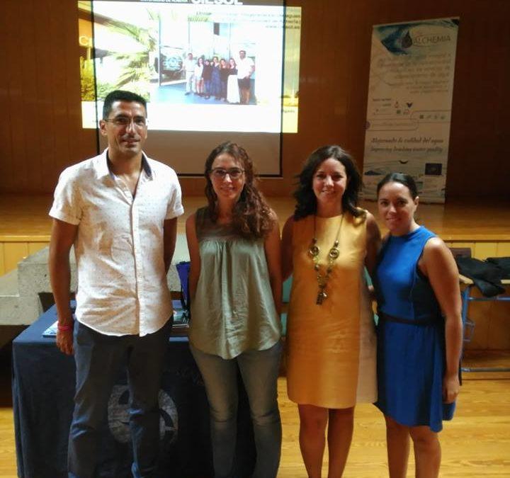 Charlas en dos institutos de Almería en el marco de la Noche Europea de los Investigadores