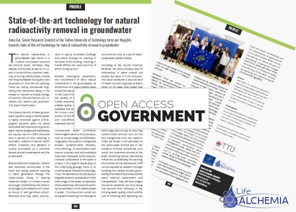 Publicación en Open Access Government