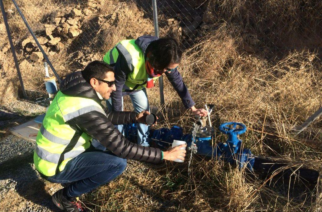 Caracterización aguas de la planta piloto de Tahal (Almería)