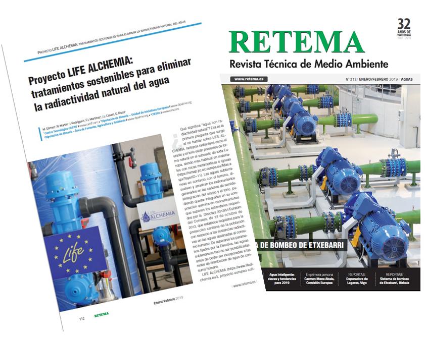 LIFE ALCHEMIA: Retema