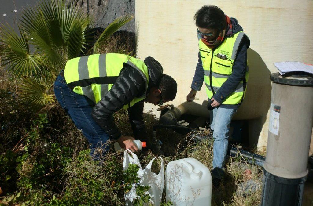 Caracterización aguas de la planta piloto de Alboloduy (Almería)