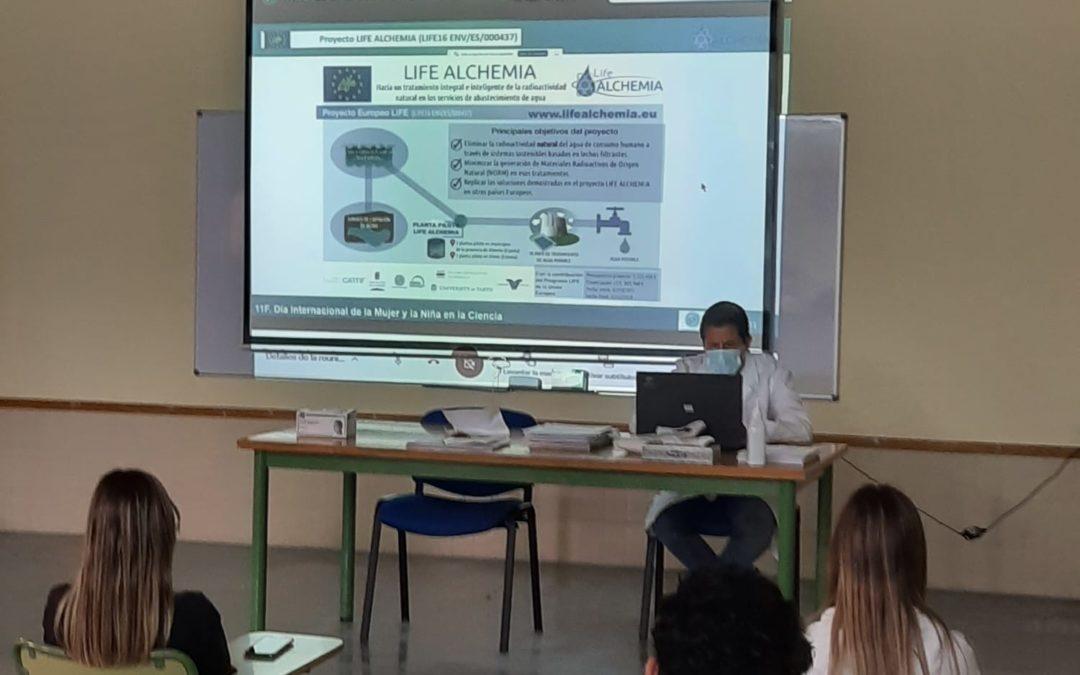 LIFE ALCHEMIA en las actividades programadas por el «11F Día Internacional de  la mujer y la niña en la Ciencia 2021» de la Universidad de Almería