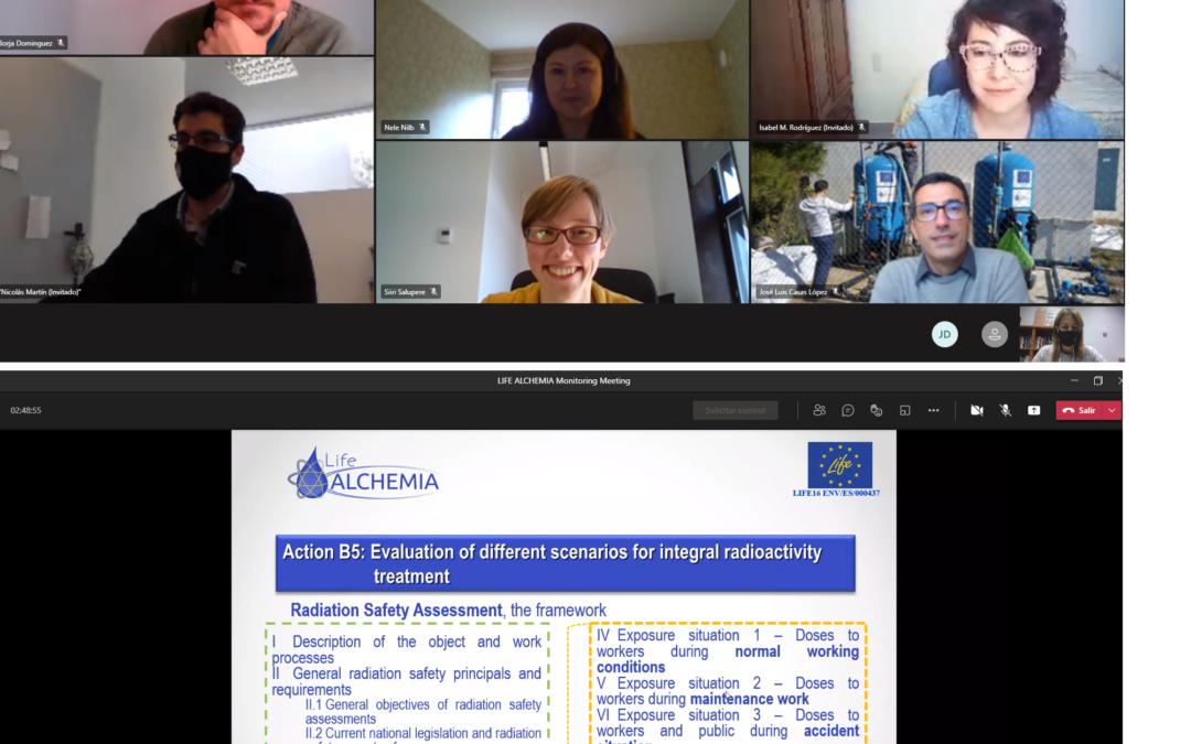 Cuarta reunión de monitorización del proyecto LIFE ALCHEMIA