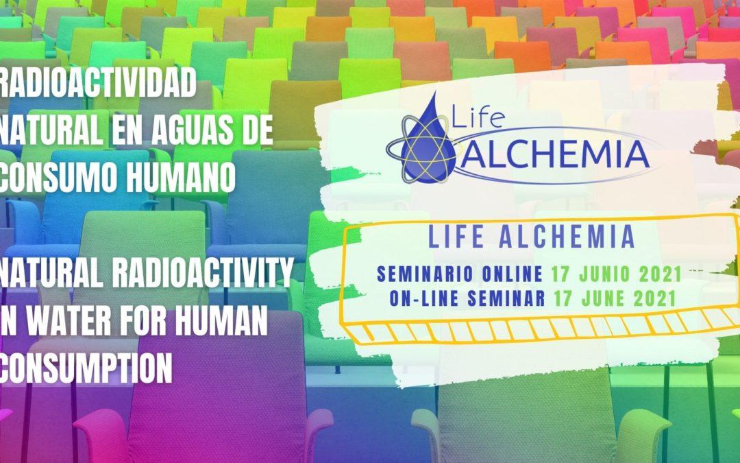 LIFE ALCHEMIA On-line seminar: 17 june 2021