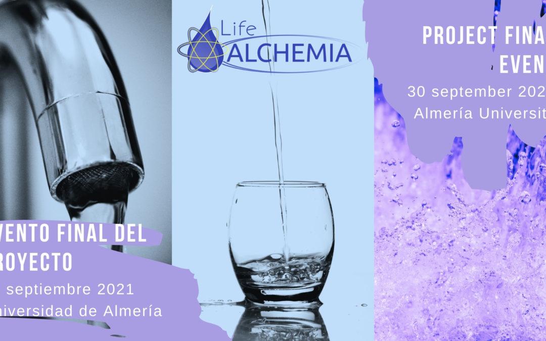 Evento final del proyecto LIFE ALCHEMIA